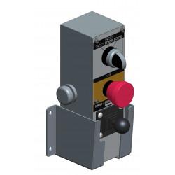 Joystick-Steuerung für angetriebene Rollenbahnen