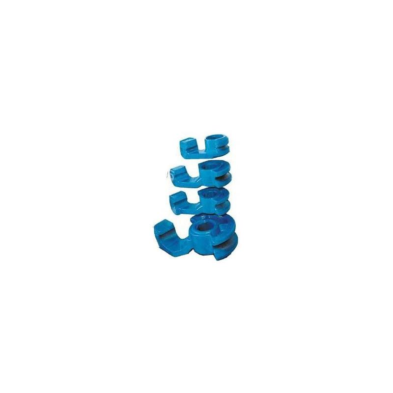Standard-Stahlbiegesegmente für dornlose Biegemaschinen Ercolina