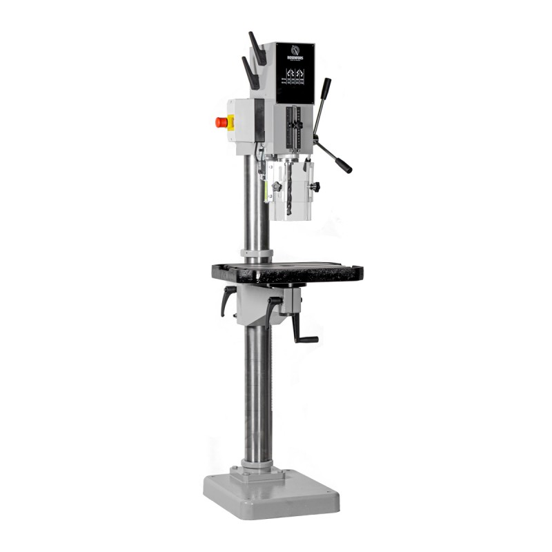 Säulenbohrmaschine Rosenfors 25 - Präzise Getriebesäulenbohrmaschinen 100 % made in Sweden