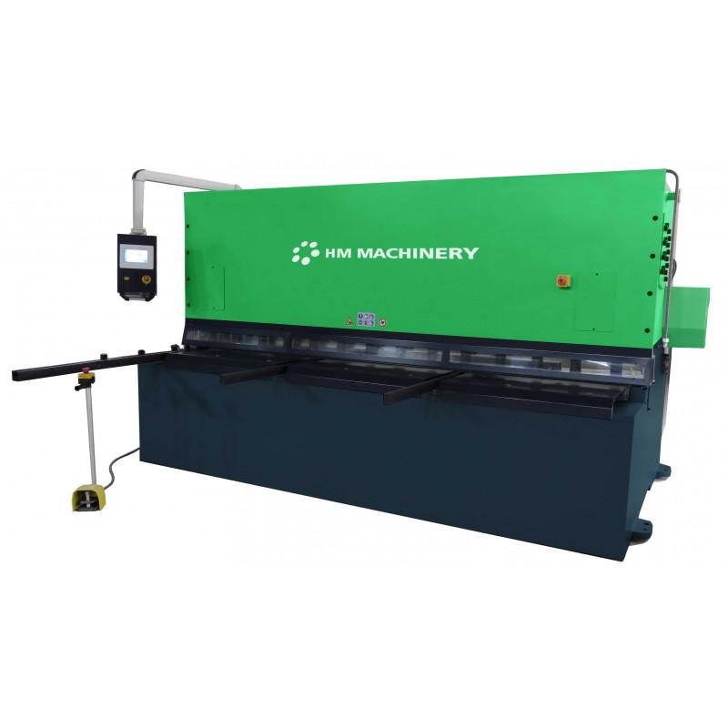Hydraulische Tafelscheren HBX Baureihe von HM Machinery.