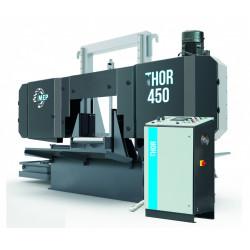 Thor 450 - halbautomatische Bandsäge für Schnitte auf 0° in 2-Säulen-Bauweise
