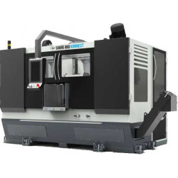 MEP Shark 460 Konnect - Hochleistungs-Bandsägeautomat in 2-Säulenbauweise