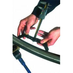 Winkelmesser + Messbrücken für Wendelbiegen